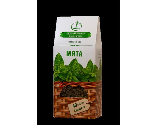 Травяной чай мята 40 гр