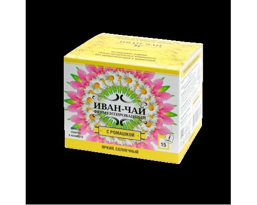 Иван-чай в фильтр-пакете с ромашкой 22.5 гр